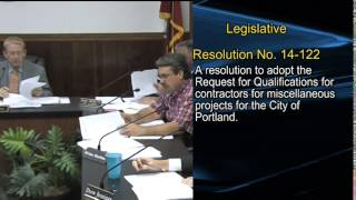 9/2/14 City of Portland Council Meeting