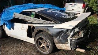 Crashed The 240.. Beyond Repair?