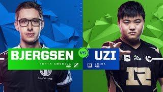 Bjergsen vs. Uzi | Finals | 1v1 Tournament | 2017 All-Star Event