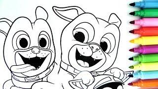 ROTULADOR MÁGICO DE PUPPY DOG PALS CON PASATIEMPOS Y SORPRESAS. Disney Junior Puppy Dog Pals/ DIVER+