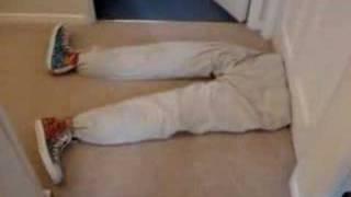 Man cut in half in Freak Accident