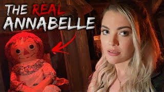 I Met The REAL Annabelle At The Warren Occult Museum...