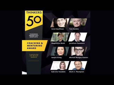 Thinkers50 Marshall Goldsmith Distinguished Achievement Award in Coaching and Mentoring