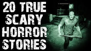 20 TRUE Disturbing Horror Stories to Freak You Out! | Mega Compilation | (Scary Stories)