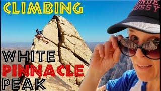 Climbing White Pinnacle Peak in Red Rock Canyon Outside Las Vegas