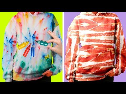 52 AWESOME DIY CLOTHING IDEAS
