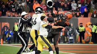 Watch NFL fight that could lead to massive fines for Cleveland Browns' Myles Garrett