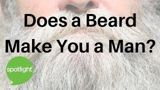 ″Does a Beard Make You a Man?″ - practice English with Spotlight