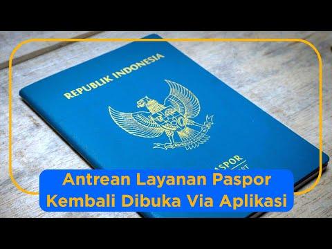 Dirjen Imigrasi Kembali Membuka Layanan Paspor Via Aplikasi