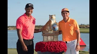 Rickie Fowler wins Hero World with course record 61