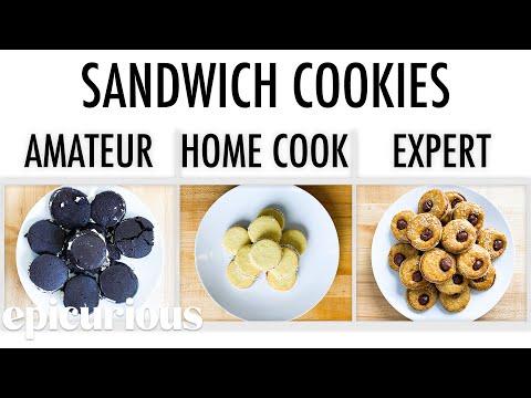 4 Levels of Sandwich Cookies: Amateur to Food Scientist   Epicurious