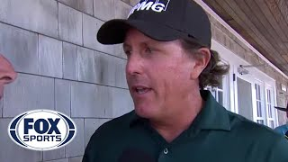 Phil Mickelson on his two-stroke penalty on the 13th at Shinnecock Hills   2018 U.S. Open