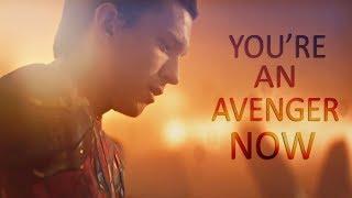 (Marvel) Peter Parker   You're An Avenger Now