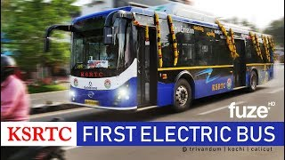 Journey with KSRTC Kerala's First Electric Bus | Test Service Started @ Trivandrum, Cochin, Calicut