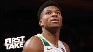 Giannis tops LeBron, Kevin Durant and Curry on one top NBA player list | First Take