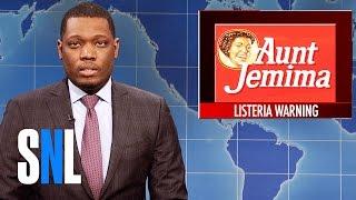 Weekend Update on Aunt Jemima Recall - SNL