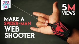 How to Make a SPIDER-MAN WEB SHOOTER at home   In Hindi   Marvel Fan