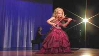 Incredible 7-Year Old Child Violinist Brianna Kahane Performs ″Csardas″ on a 1/4-Size Violin.