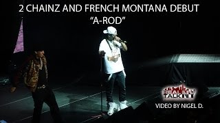 2 Chainz & French Montana Debut ″A-Rod″ In NYC