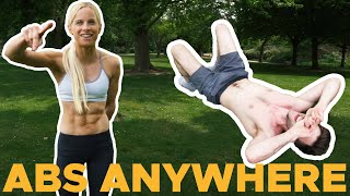 How to get SHREDDED ABS with Anna Davey!