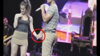 Most Awkward Embarrassing Celebrity Compilation || 2017