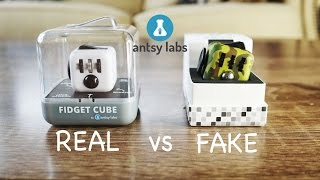 Real vs Fake Fidget Cube | FREE GIVEAWAY!!!