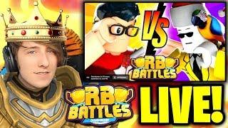 🔴 HYPER vs ANT!!! (LIVE REACTION)   ⚔️ Roblox RB Battles Championship Event   1 Million Robux Prize