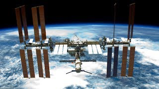 NASA/ESA International Space Station ISS Live Earth View With Tracking Data - 56