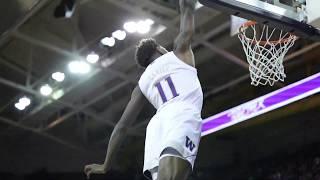 MBB: Nahziah Carter One-Handed Slam