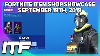 Fortnite Item Shop *NEW* HOTWIRE SKIN SET! [September 19th, 2019] (Fortnite Battle Royale)