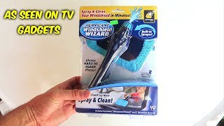 4 As Seen On TV Window Cleaner Test