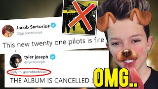 THE NEW Twenty One Pilots ERA IS CURSED..*watch at your own risk*