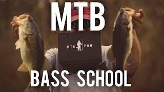 MTB Slam Bass School - Winter Bass Fishing can be tough