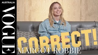 Margot Robbie plays a game of Hollywood trivia | Interview | Vogue Australia
