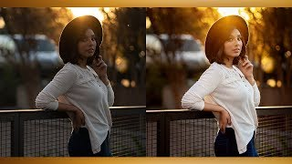 How I Edit My Natural Light Portraits - Lightroom & Photoshop Tutorial