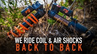 We Ride FOX Coil & Air Shocks Back-to-Back