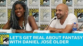 Let's Get Real About Fantasy Panel   San Diego Comic-Con 2018