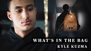 Kyle Kuzma's Travel Essentials
