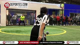 Penales Las Mismas vs. Deportivo Amistad AKD Women Premier Academy Soccer League
