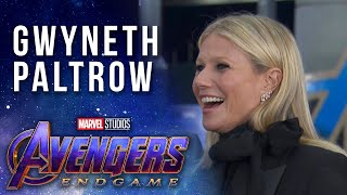 Gwyneth Paltrow on Pepper Potts through the years at the Avengers: Endgame Premiere
