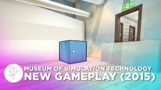 Optical Illusion Perspective-Based Puzzle Gameplay: Museum of Simulation Technology