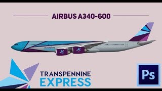 Photoshop: Airbus A340-600 With Transpennine Express Livery