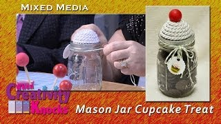 Cupcake Mason Jar for Treats