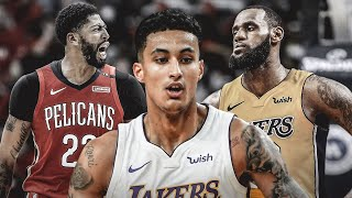 Kyle Kuzma BEGS Lebron James To NOT TRADE HIM!
