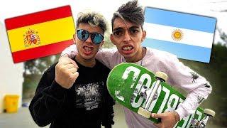 ARGENTINA VS ESPAÑA SKATE