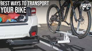 Hitch Rack? Tailgate Pad? - Top 5 Ways To Transport Your Mountain Bike
