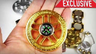 RARE UNIQUE FIDGET SPINNERS- UFO, Clock, Compass, Bullets, Swiss, iSpin X, etc