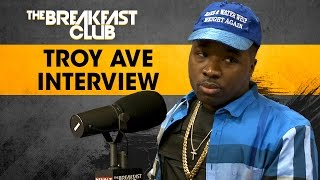 Video - Troy Ave FULL Interview At The Breakfast Club Power 105.1 (4/5/2017) Talks Shooting & Taxstone
