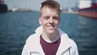 Ausbildung mit Weitblick: EnBW-Azubi Hannes nimmt euch Offshore mit.