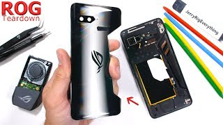 Asus ROG Gaming Phone Teardown - Are the vents even real?